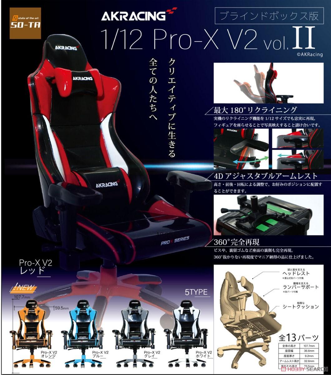 『AKRacing 1/12 Pro‐X V2 vol.II』6個入りBOX-001