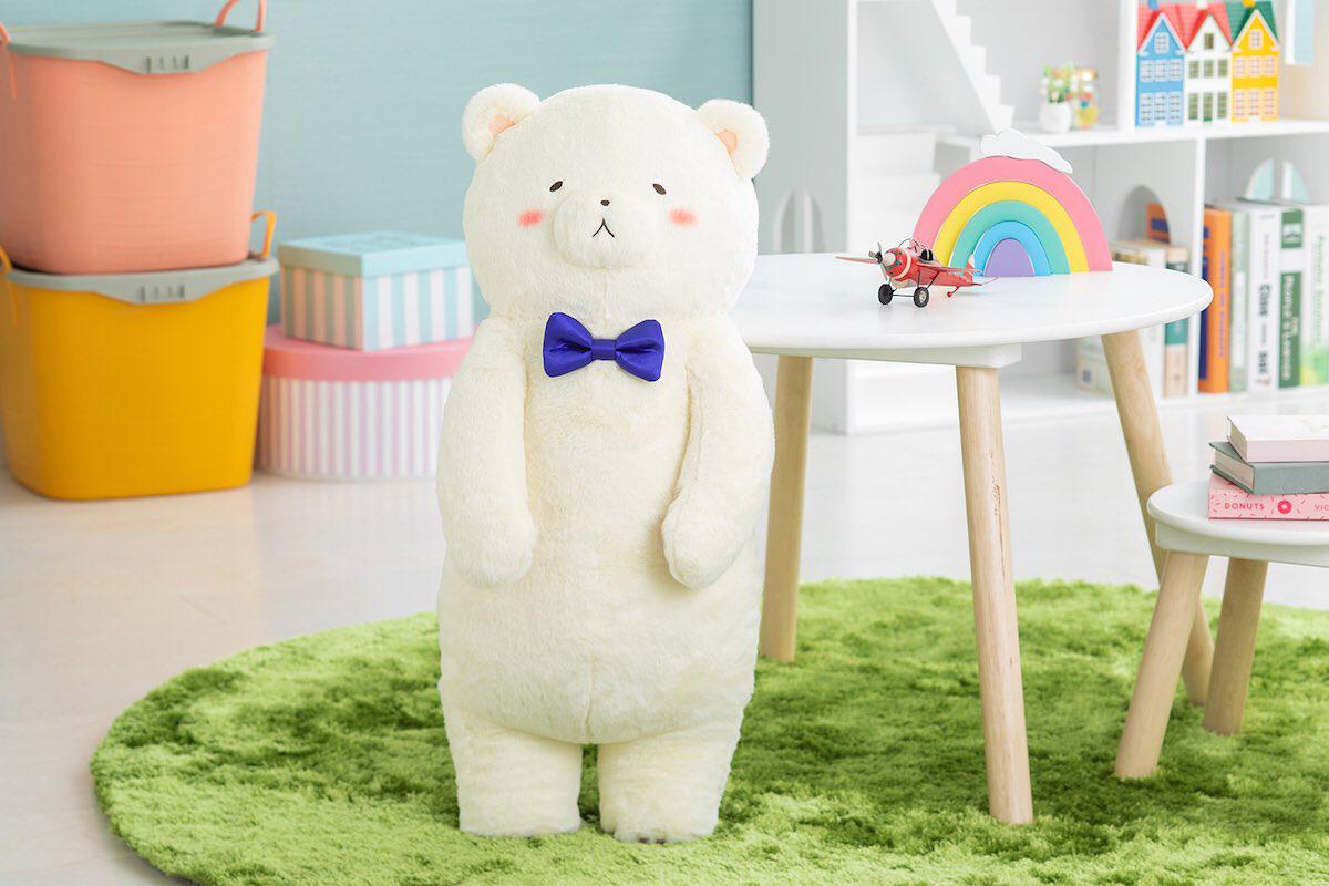 ヘタリア World★Stars『クマ二郎の大きなハグぬいぐるみ』グッズ-006