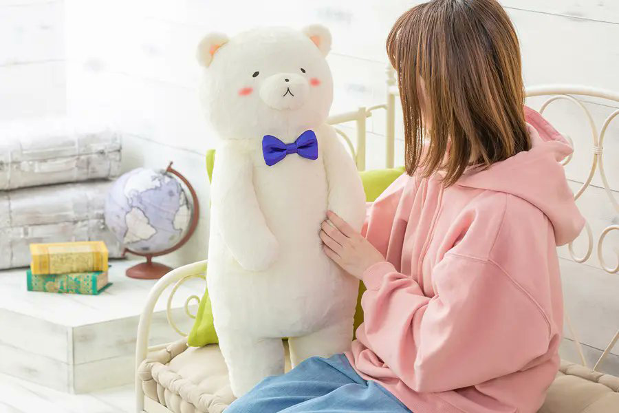 ヘタリア World★Stars『クマ二郎の大きなハグぬいぐるみ』グッズ-013