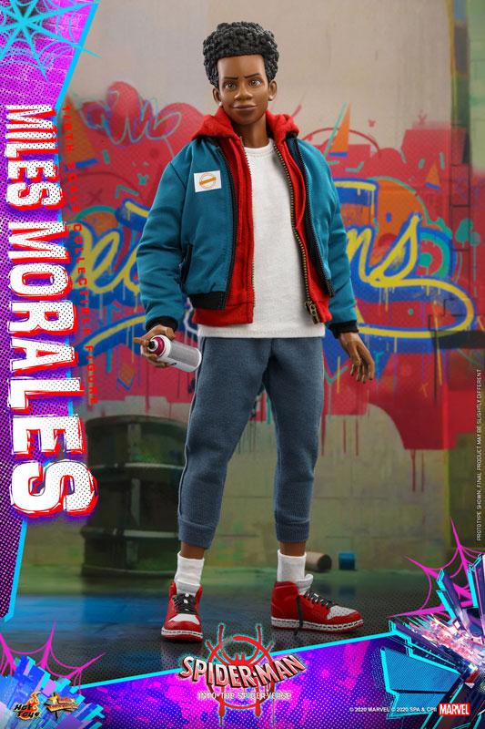 ムービー・マスターピース『マイルス・モラレス/スパイダーマン』スパイダーマン: スパイダーバース 1/6 可動フィギュア-003