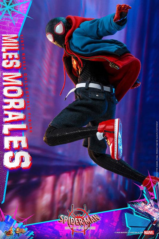 ムービー・マスターピース『マイルス・モラレス/スパイダーマン』スパイダーマン: スパイダーバース 1/6 可動フィギュア-005
