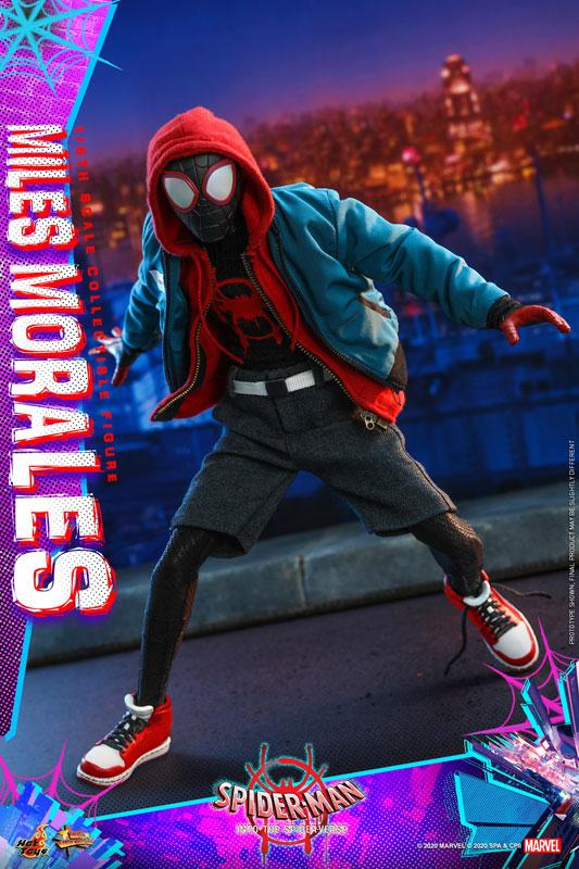 ムービー・マスターピース『マイルス・モラレス/スパイダーマン』スパイダーマン: スパイダーバース 1/6 可動フィギュア-006