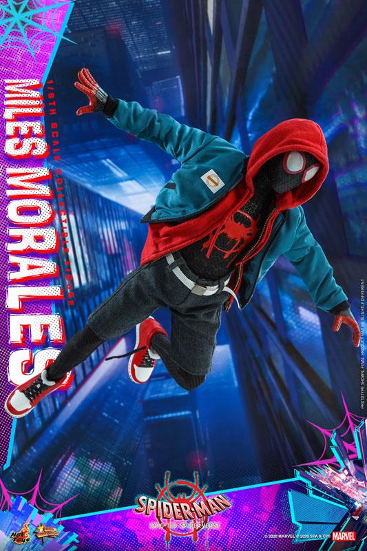 ムービー・マスターピース『マイルス・モラレス/スパイダーマン』スパイダーマン: スパイダーバース 1/6 可動フィギュア-007