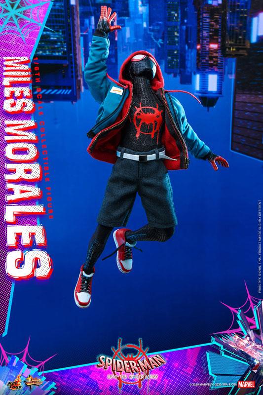 ムービー・マスターピース『マイルス・モラレス/スパイダーマン』スパイダーマン: スパイダーバース 1/6 可動フィギュア-008