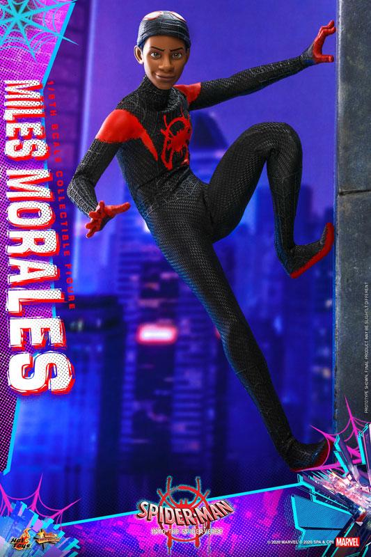 ムービー・マスターピース『マイルス・モラレス/スパイダーマン』スパイダーマン: スパイダーバース 1/6 可動フィギュア-009