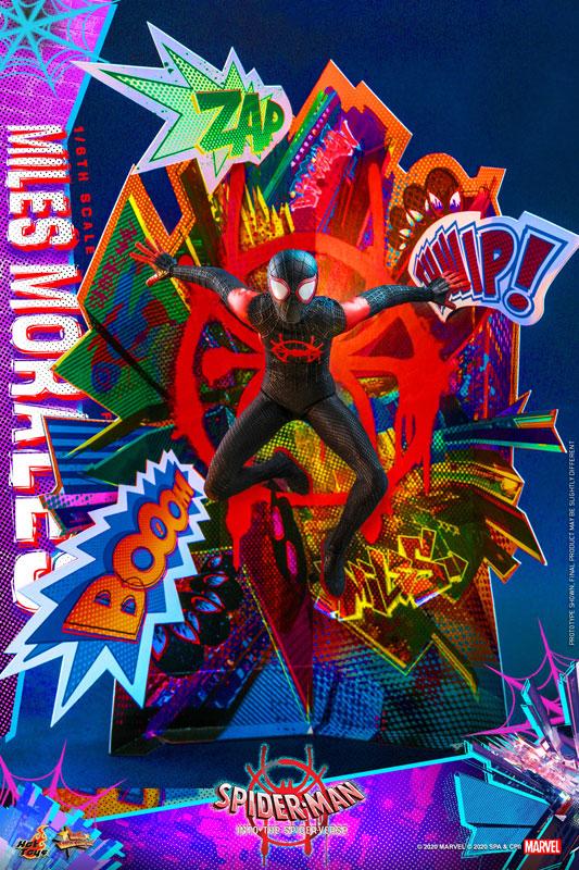 ムービー・マスターピース『マイルス・モラレス/スパイダーマン』スパイダーマン: スパイダーバース 1/6 可動フィギュア-011