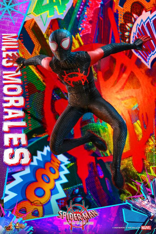ムービー・マスターピース『マイルス・モラレス/スパイダーマン』スパイダーマン: スパイダーバース 1/6 可動フィギュア-013
