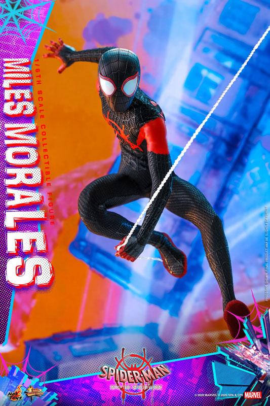 ムービー・マスターピース『マイルス・モラレス/スパイダーマン』スパイダーマン: スパイダーバース 1/6 可動フィギュア-014