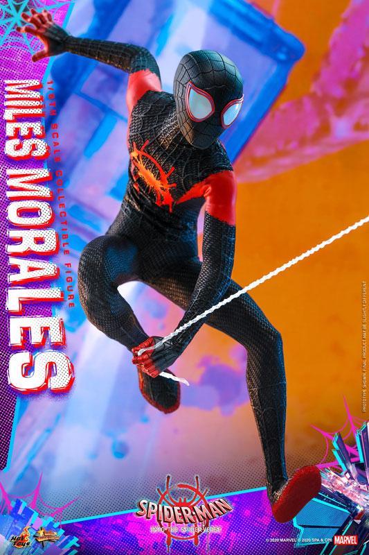 ムービー・マスターピース『マイルス・モラレス/スパイダーマン』スパイダーマン: スパイダーバース 1/6 可動フィギュア-015