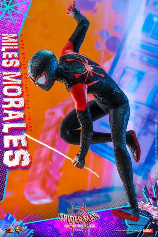 ムービー・マスターピース『マイルス・モラレス/スパイダーマン』スパイダーマン: スパイダーバース 1/6 可動フィギュア-016