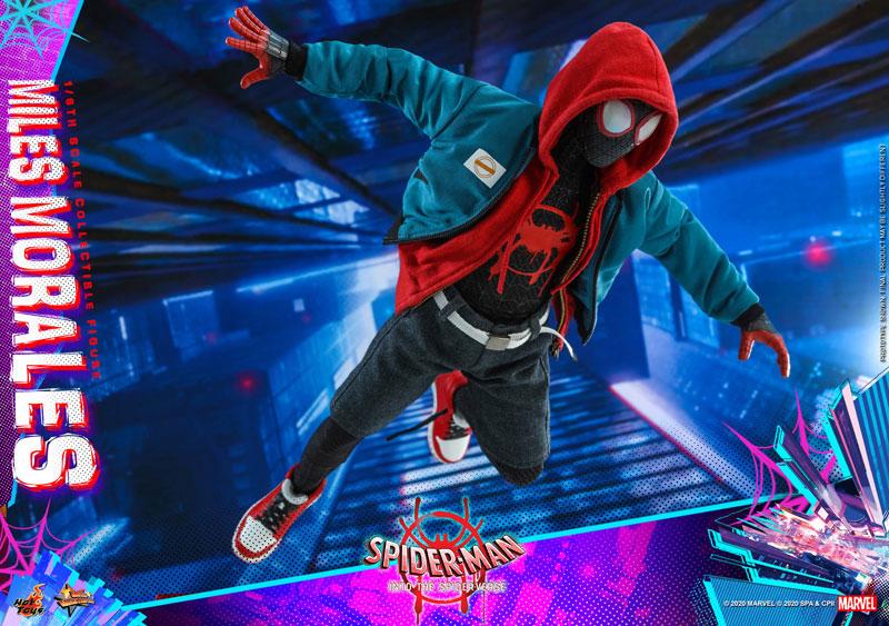 ムービー・マスターピース『マイルス・モラレス/スパイダーマン』スパイダーマン: スパイダーバース 1/6 可動フィギュア-021