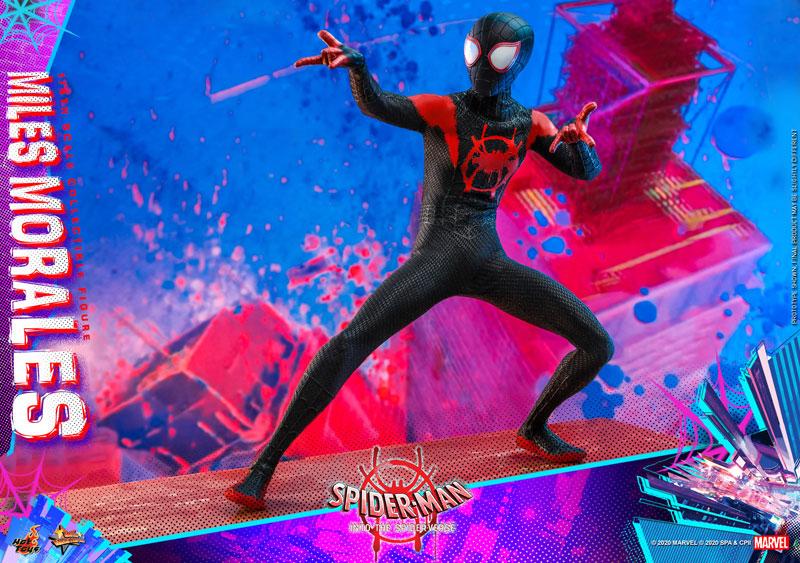 ムービー・マスターピース『マイルス・モラレス/スパイダーマン』スパイダーマン: スパイダーバース 1/6 可動フィギュア-024