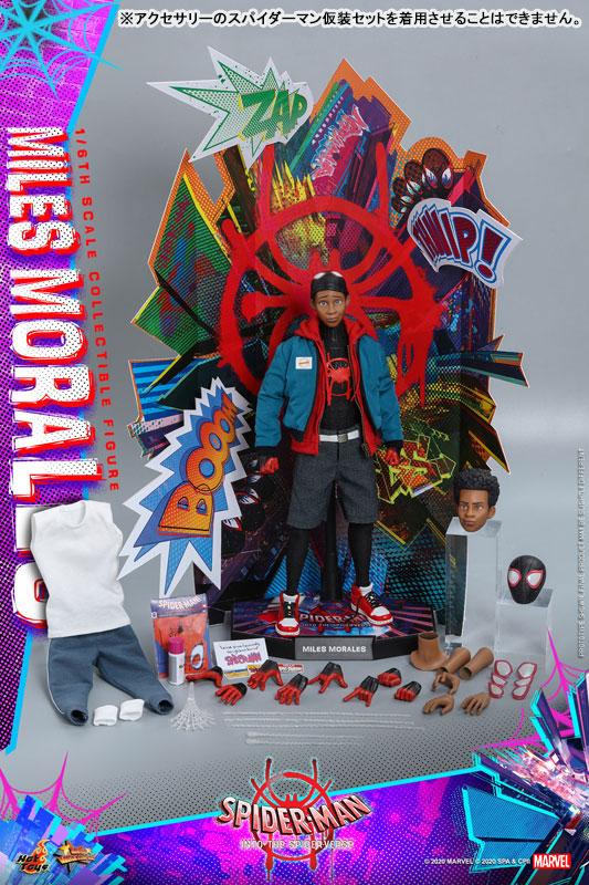 ムービー・マスターピース『マイルス・モラレス/スパイダーマン』スパイダーマン: スパイダーバース 1/6 可動フィギュア-028