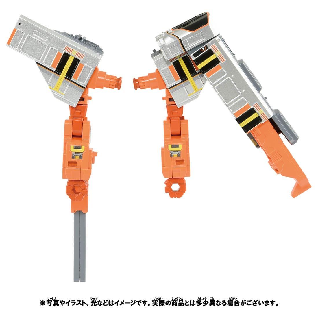 新幹線変形ロボ シンカリオンZ『シンカリオンZ 500オオサカカンジョウセット』可変合体プラレール-008