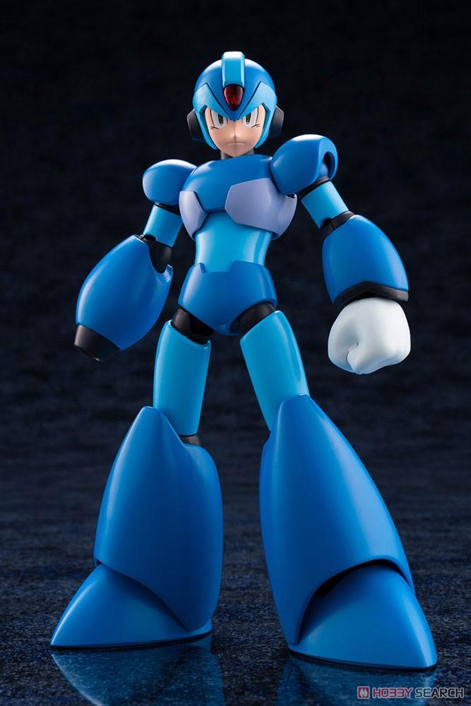 【再販】ロックマンX『エックス』1/12 プラモデル-002