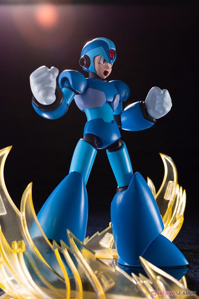 【再販】ロックマンX『エックス』1/12 プラモデル-008