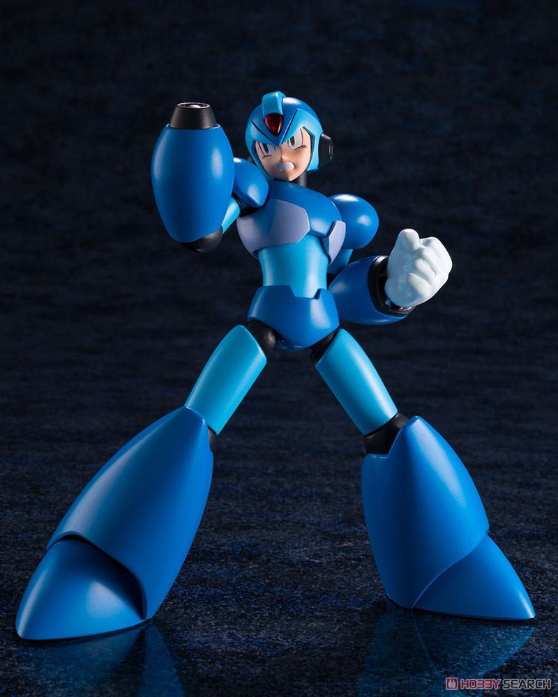 【再販】ロックマンX『エックス』1/12 プラモデル-011