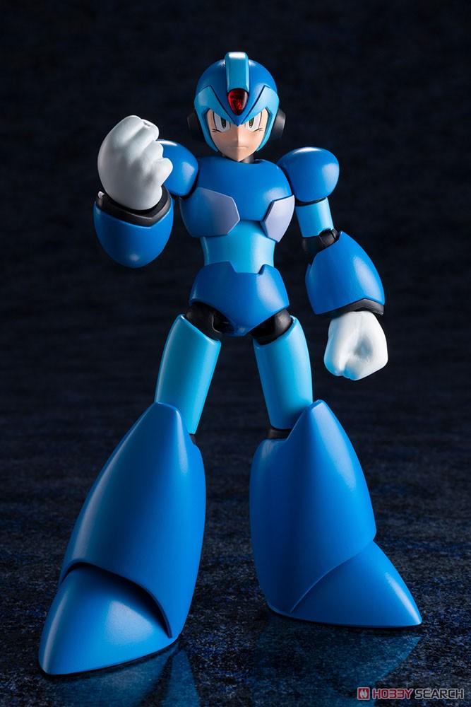 【再販】ロックマンX『エックス』1/12 プラモデル-013
