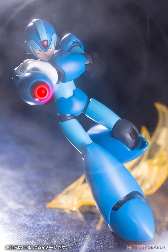【再販】ロックマンX『エックス』1/12 プラモデル-020