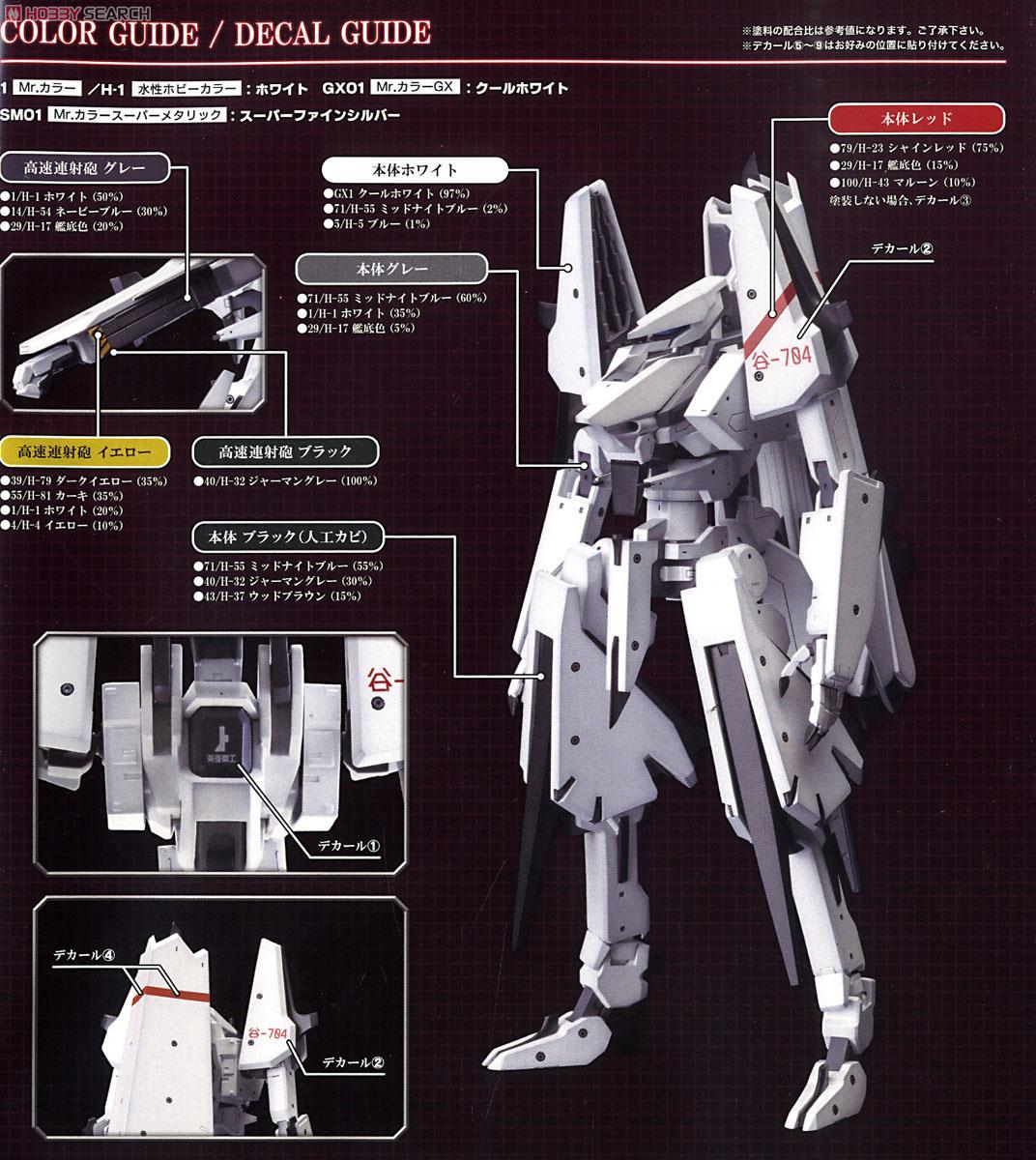 【再販】シドニアの騎士『一七式衛人 継衛改二』1/100 プラモデル-026