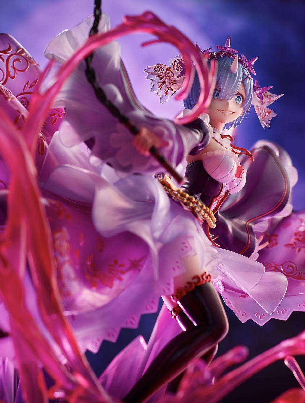 【限定販売】Re:ゼロから始める異世界生活『鬼レム -Crystal Dress Ver-』 1/7 完成品フィギュア-005