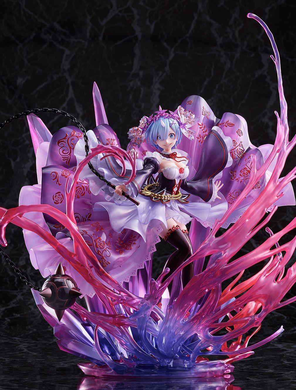 【限定販売】Re:ゼロから始める異世界生活『鬼レム -Crystal Dress Ver-』 1/7 完成品フィギュア-010