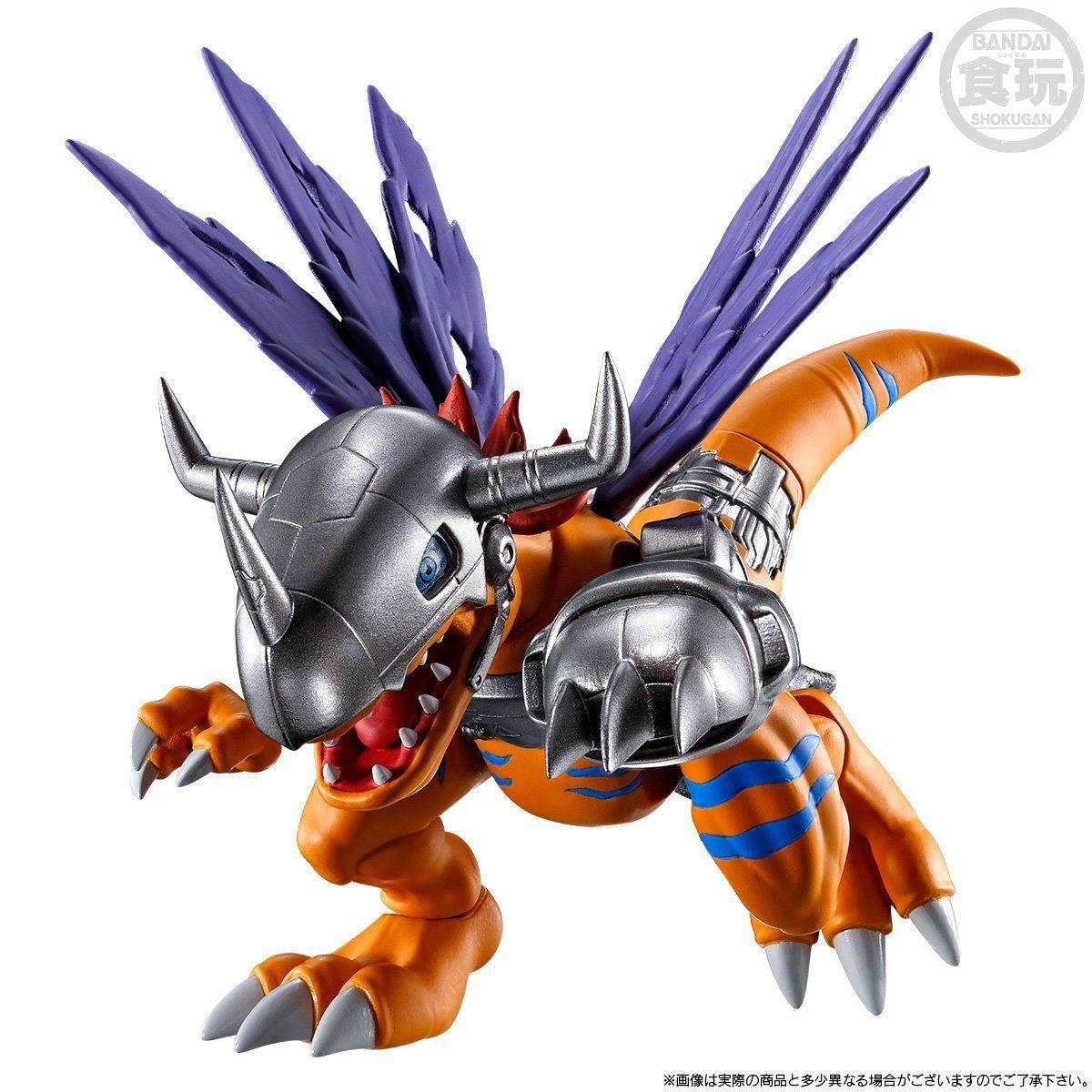 【限定販売】【食玩】SHODO デジモン『メタルグレイモン&ワーガルルモン』コンプリートセット-002