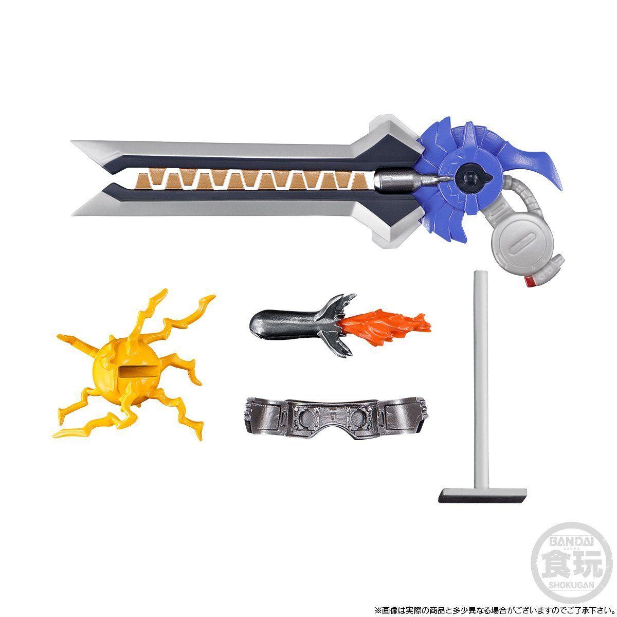 【限定販売】【食玩】SHODO デジモン『メタルグレイモン&ワーガルルモン』コンプリートセット-006