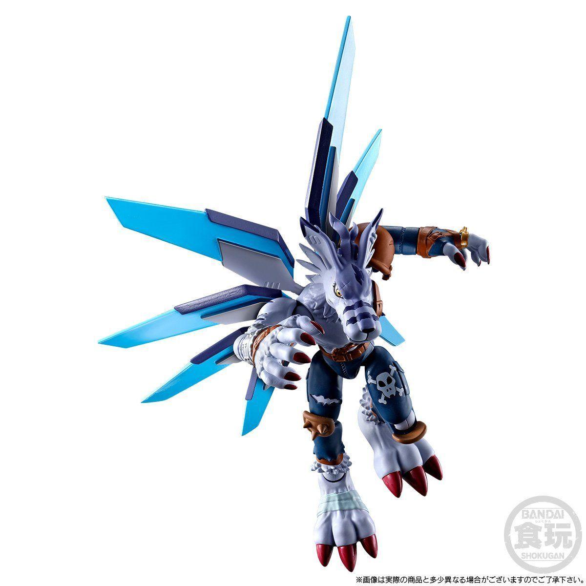 【限定販売】【食玩】SHODO デジモン『メタルグレイモン&ワーガルルモン』コンプリートセット-008