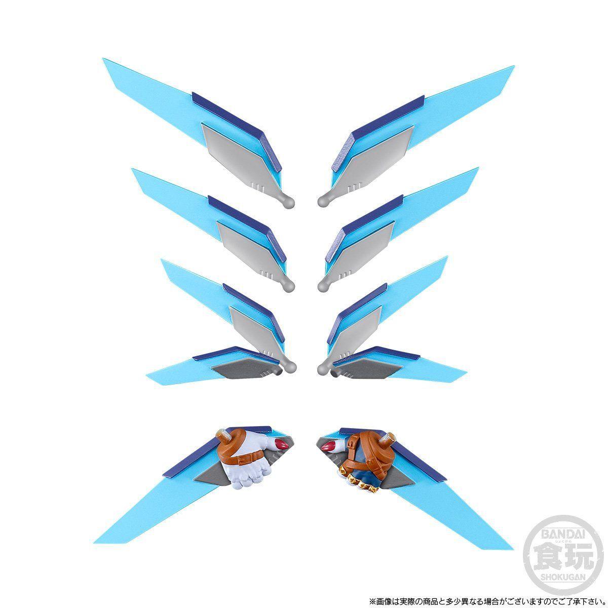 【限定販売】【食玩】SHODO デジモン『メタルグレイモン&ワーガルルモン』コンプリートセット-010
