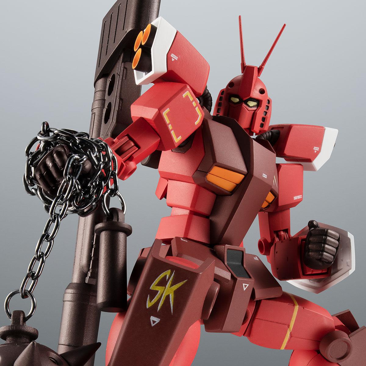 【限定販売】ROBOT魂〈SIDE MS〉『PF-78-3 パーフェクトガンダムIII(レッドウォーリア)ver. A.N.I.M.E.』プラモ狂四郎 可動フィギュア-001