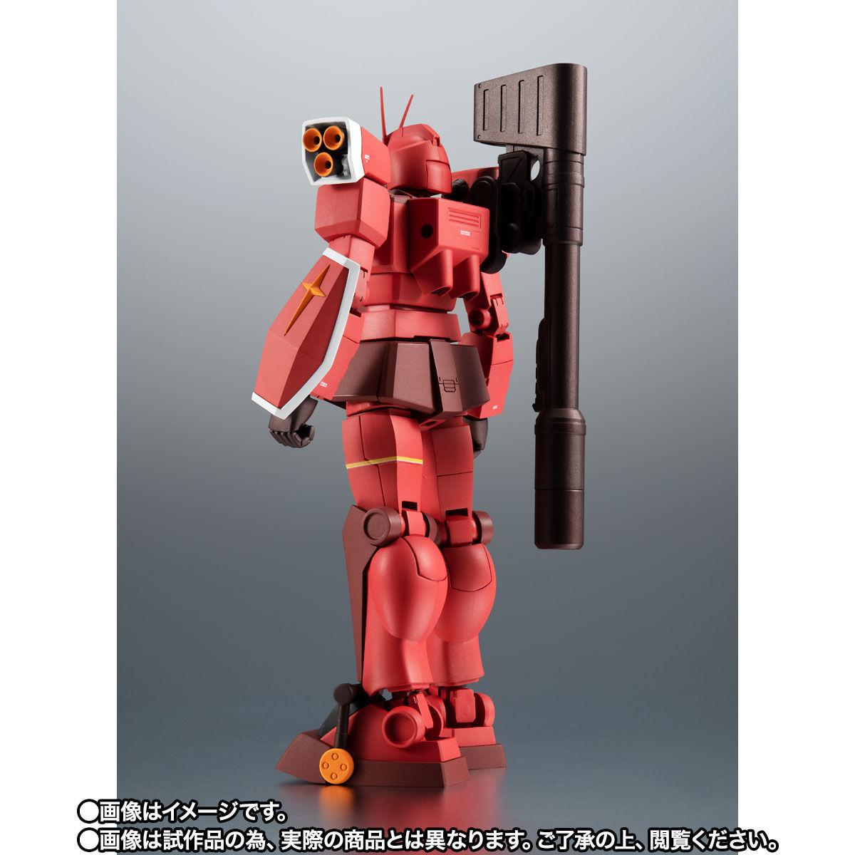 【限定販売】ROBOT魂〈SIDE MS〉『PF-78-3 パーフェクトガンダムIII(レッドウォーリア)ver. A.N.I.M.E.』プラモ狂四郎 可動フィギュア-009