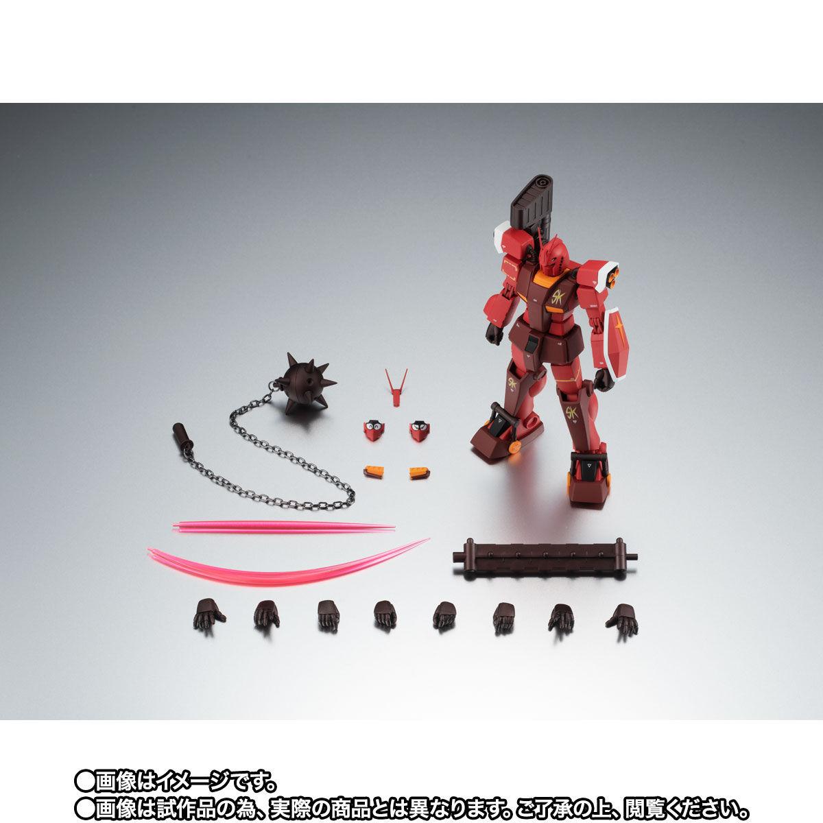【限定販売】ROBOT魂〈SIDE MS〉『PF-78-3 パーフェクトガンダムIII(レッドウォーリア)ver. A.N.I.M.E.』プラモ狂四郎 可動フィギュア-010