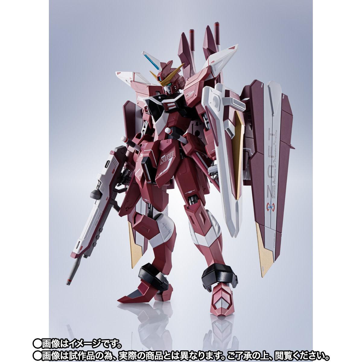 【限定販売】METAL ROBOT魂〈SIDE MS〉『ジャスティスガンダム』ガンダムSEED 可動フィギュア-002