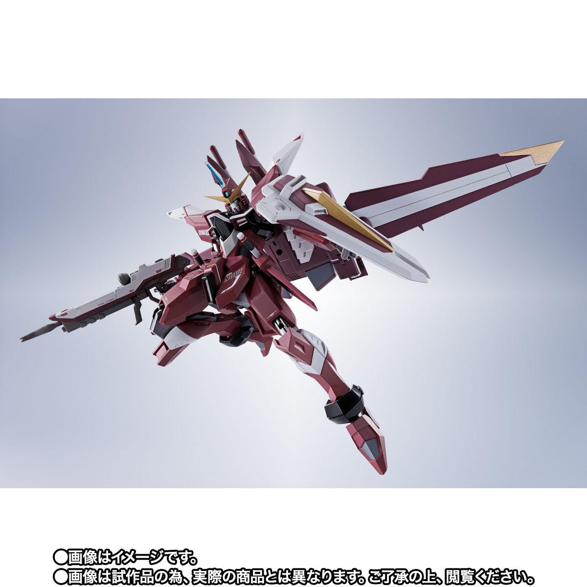 【限定販売】METAL ROBOT魂〈SIDE MS〉『ジャスティスガンダム』ガンダムSEED 可動フィギュア-003