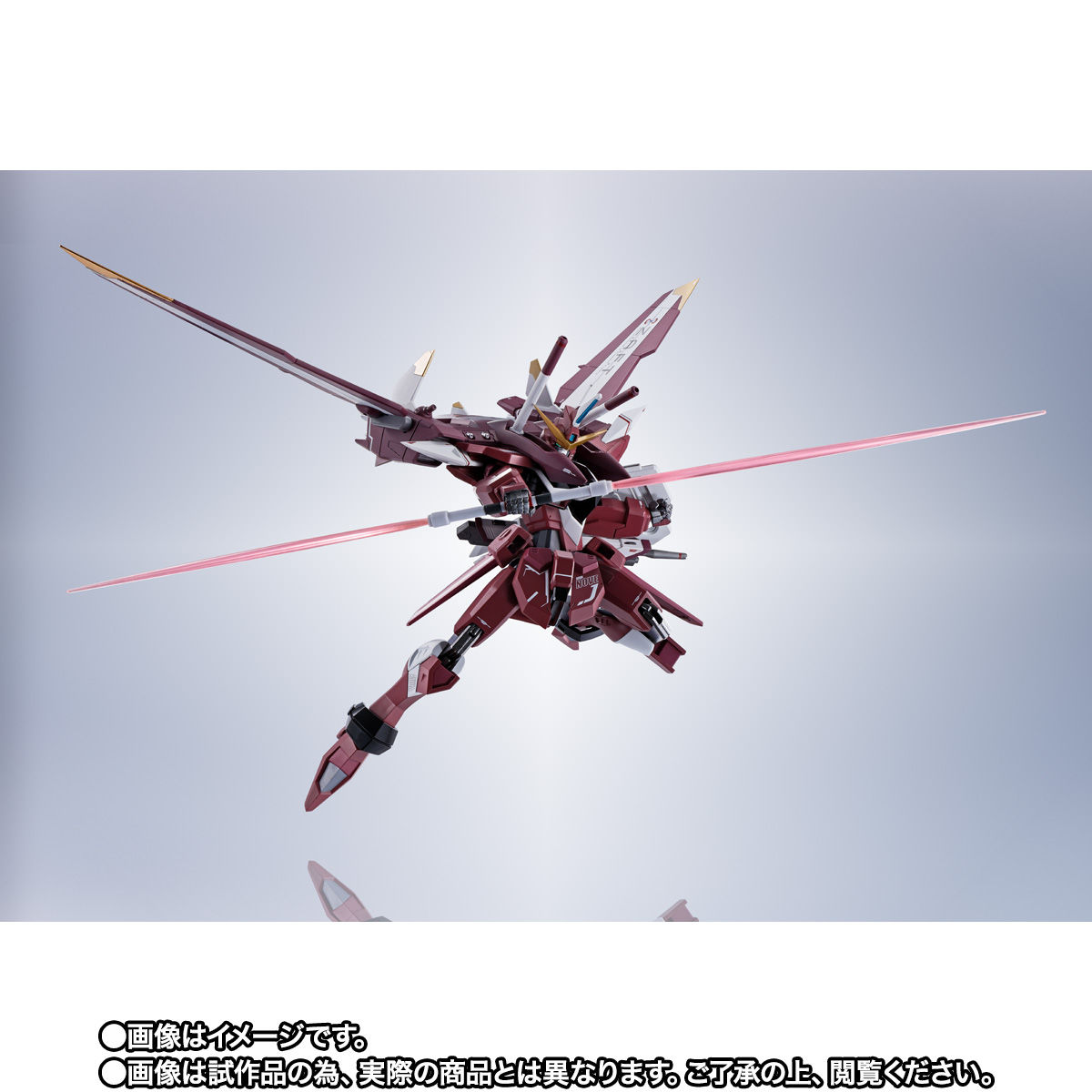 【限定販売】METAL ROBOT魂〈SIDE MS〉『ジャスティスガンダム』ガンダムSEED 可動フィギュア-005