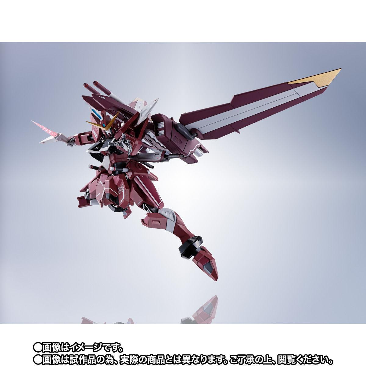 【限定販売】METAL ROBOT魂〈SIDE MS〉『ジャスティスガンダム』ガンダムSEED 可動フィギュア-006