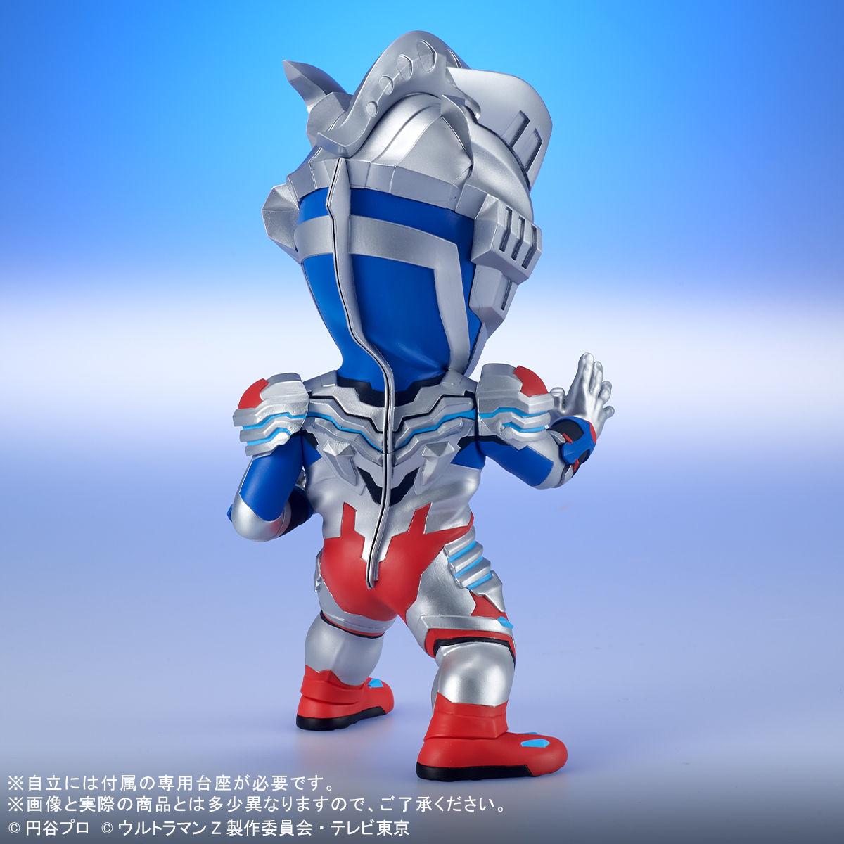 【限定販売】デフォリアル『ウルトラマンゼット アルファエッジ』デフォルメ完成品フィギュア-006