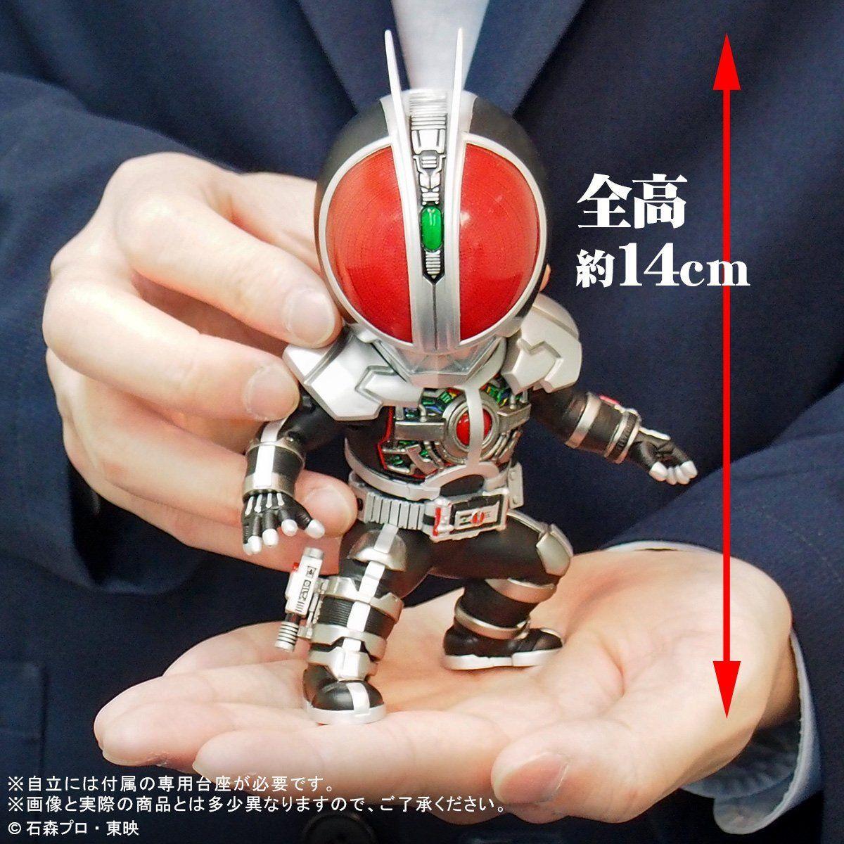 【限定販売】デフォリアル『仮面ライダーファイズ アクセルフォーム』デフォルメ完成品フィギュア-008