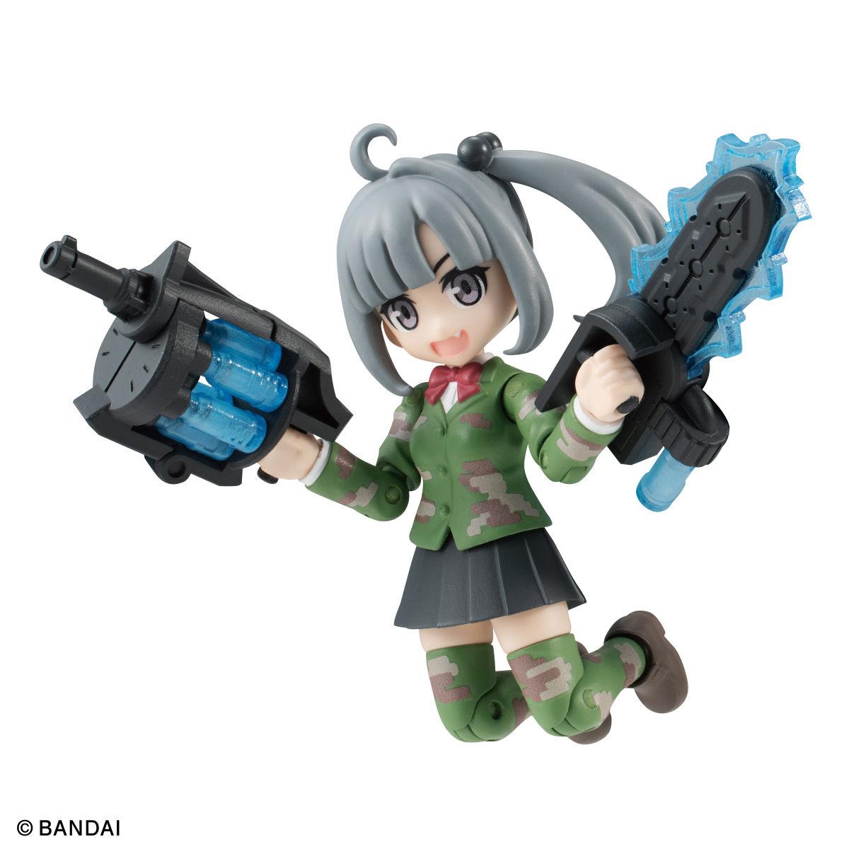【限定販売】ガシャポン『AQUA SHOOTERS! 泉かのん』デフォルメ可動フィギュア-002