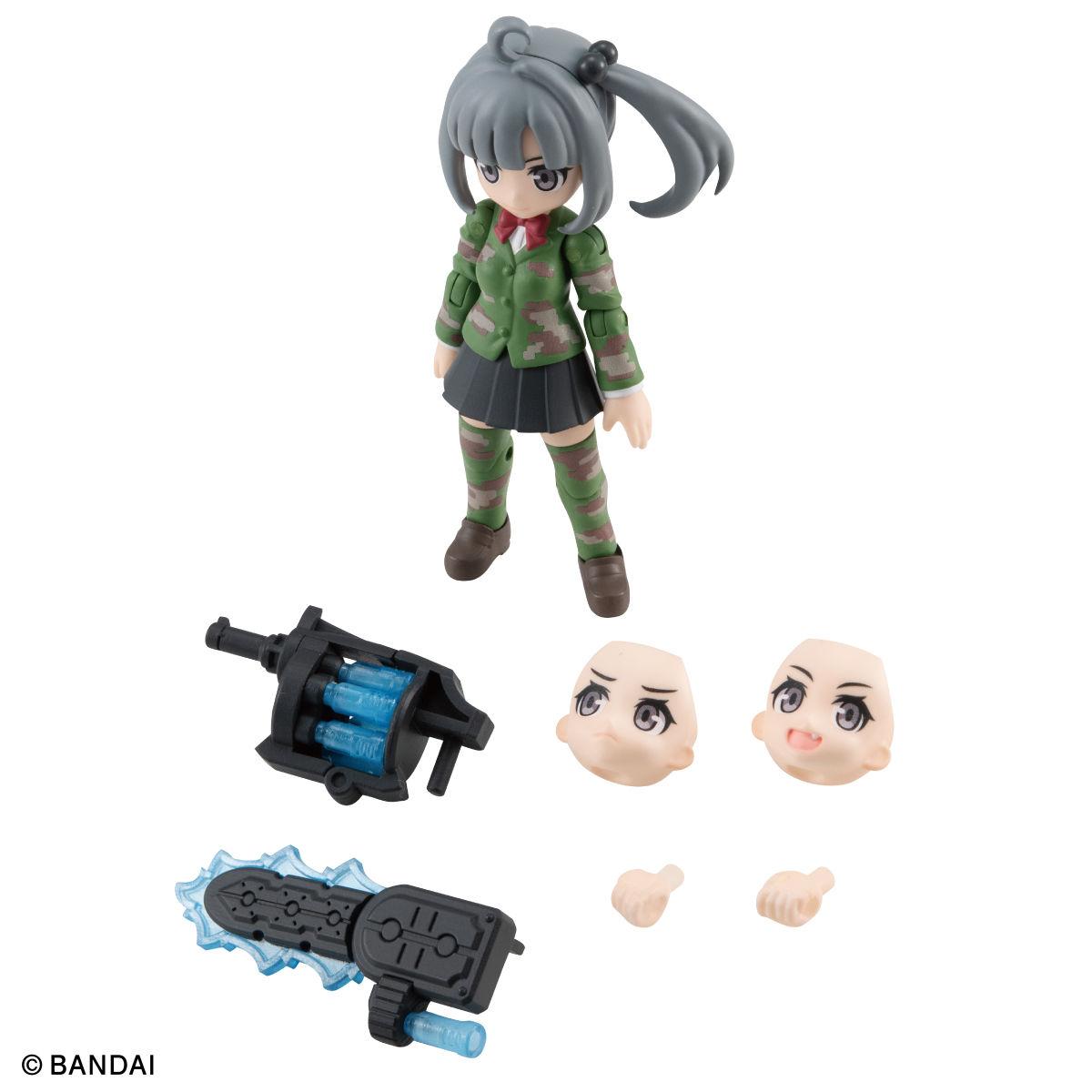 【限定販売】ガシャポン『AQUA SHOOTERS! 泉かのん』デフォルメ可動フィギュア-006