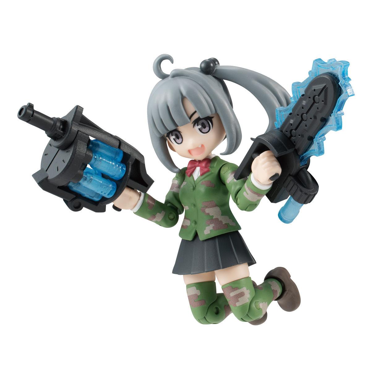 【限定販売】ガシャポン『AQUA SHOOTERS! 泉かのん』デフォルメ可動フィギュア-008