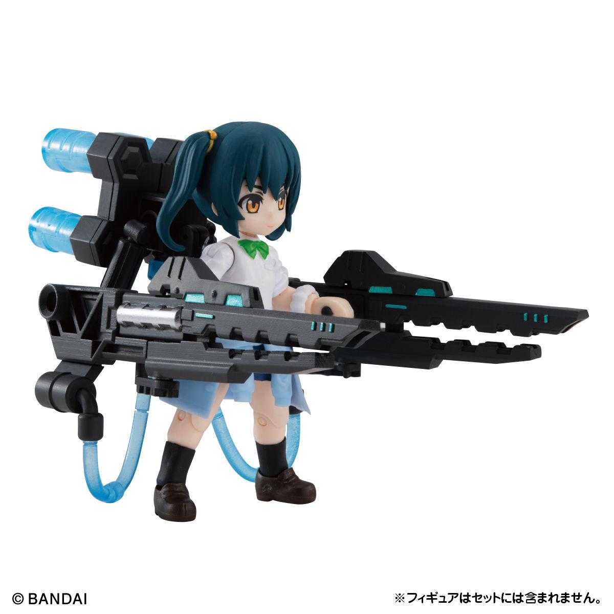 【限定販売】ガシャポン『AQUA SHOOTERS! 泉かのん』デフォルメ可動フィギュア-015