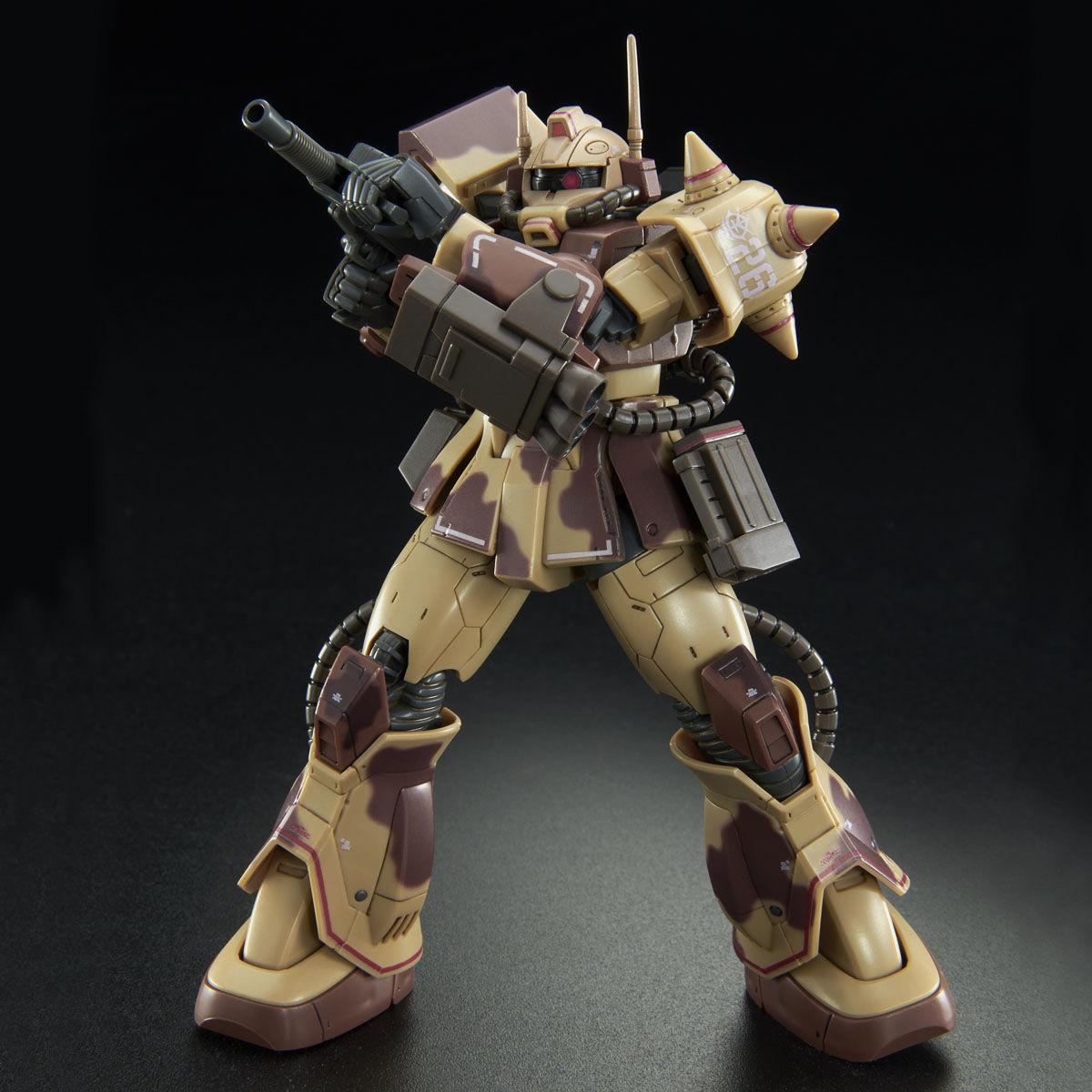 【限定販売】HG 1/144『ザク・デザートタイプ(ダブルアンテナ仕様)』プラモデル-006
