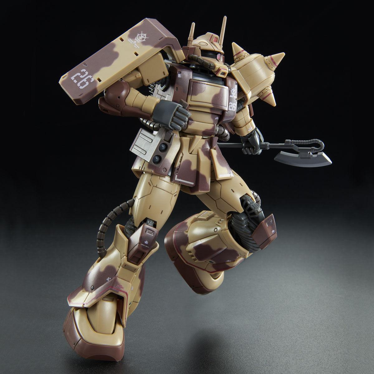 【限定販売】HG 1/144『ザク・デザートタイプ(ダブルアンテナ仕様)』プラモデル-007