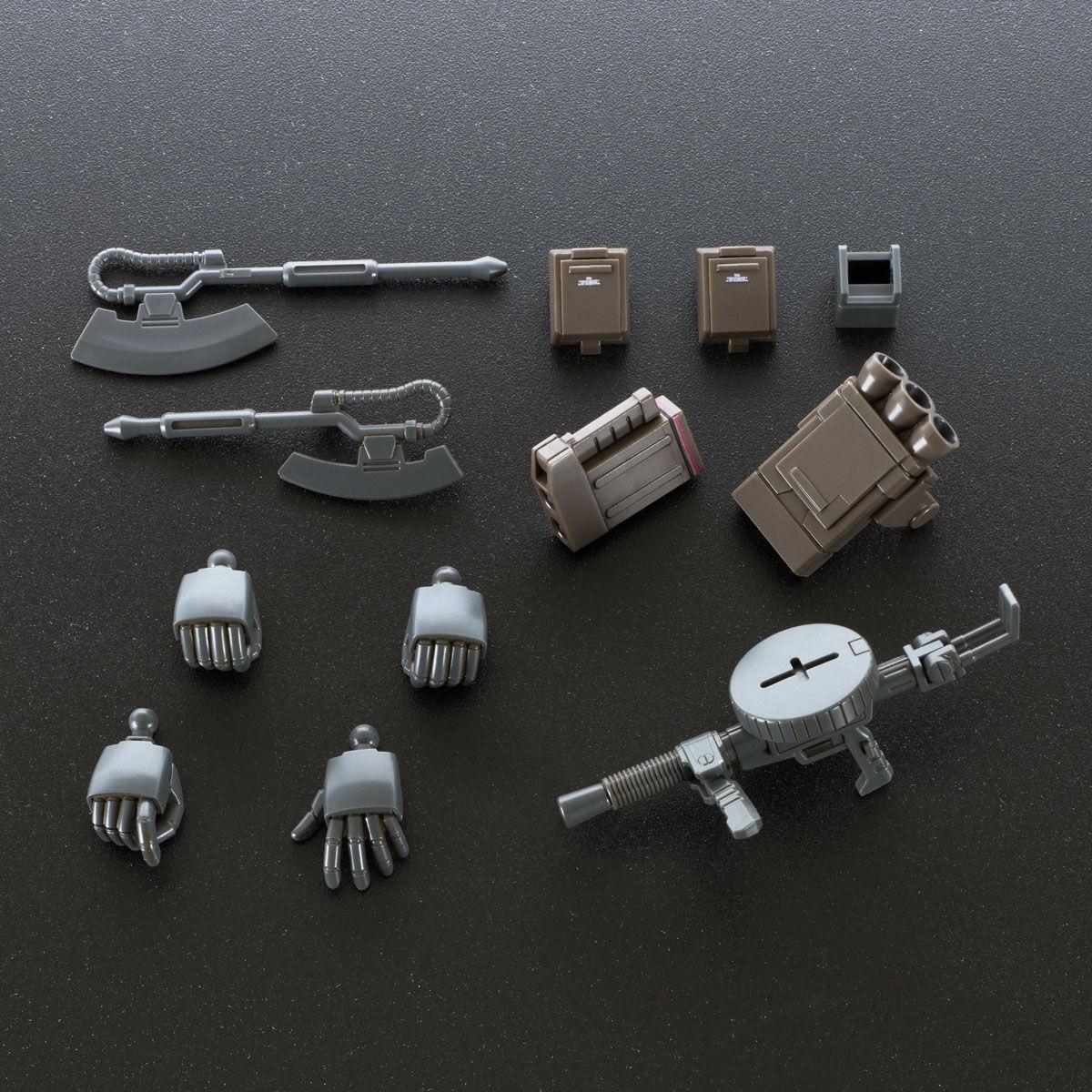 【限定販売】HG 1/144『ザク・デザートタイプ(ダブルアンテナ仕様)』プラモデル-009