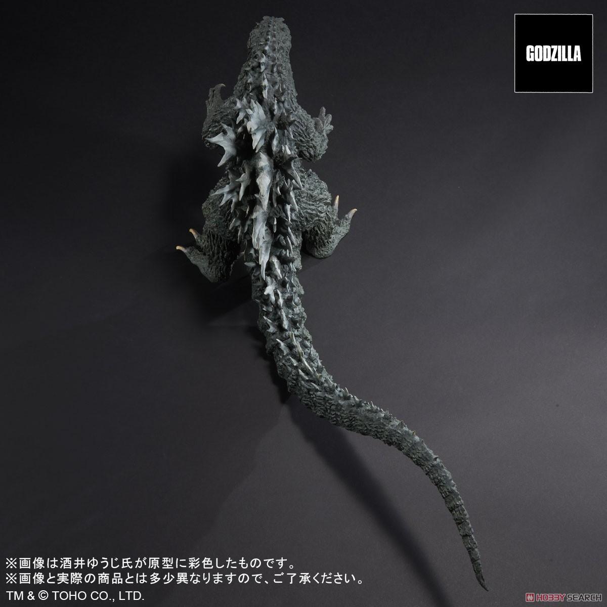 リアルマスターコレクション『ゴジラ2000 ミレニアムひな形レプリカ ソフビ版』完成品フィギュア-006
