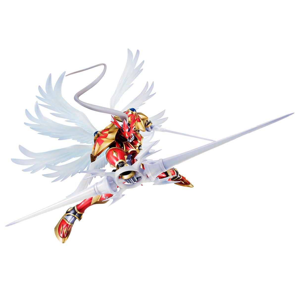 【限定販売】【再販】G.E.M.シリーズ『デュークモン:クリムゾンモード』デジモンテイマーズ 完成品フィギュア-002