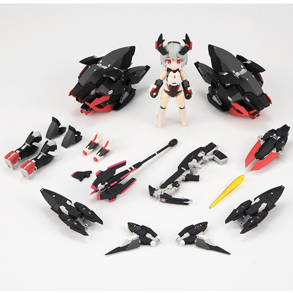 デスクトップアーミー『シルフィーII Mode-B(グリンブルスティ装備)』アリス・ギア・アイギス 可動フィギュア-003