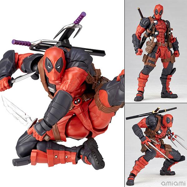 フィギュアコンプレックス アメイジング・ヤマグチ No.025『Deadpool ver.2.0/デッドプール ver.2.0』可動フィギュア